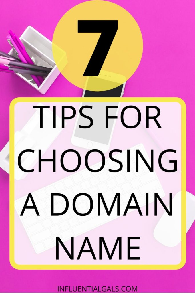Choosing a domain name requires a lot of thought since this will be your identity online.  You need a name that is not only easy to remember and promote but also one that describes your blog.  You need to consider SEO and your longterm brand as well as which niche you are likely to write for.  Blogging can be fun and profitable but it is essential you get the domain right as this is what the public sees. You can get a free domain through my link and use the generator to help find ideas. #domain