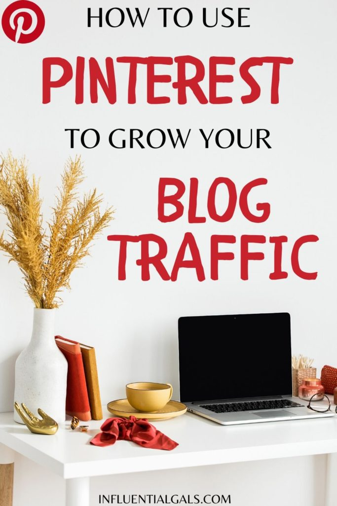 get traffic from Pinterest