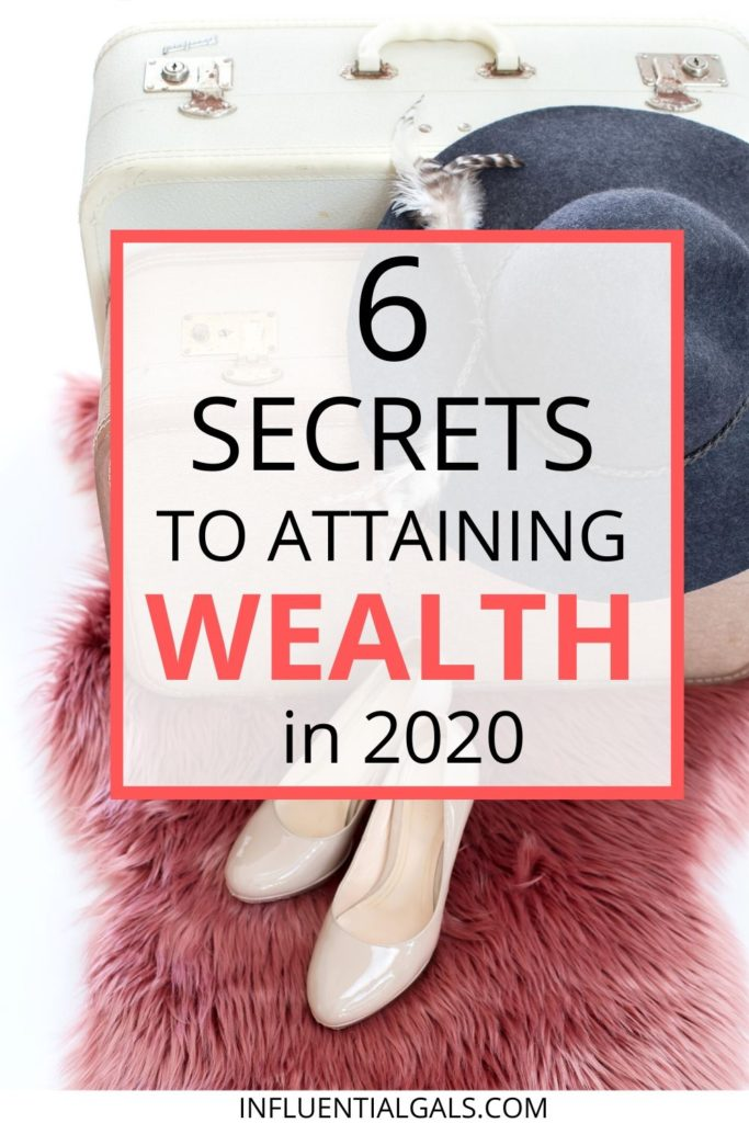 formula for achieving wealth